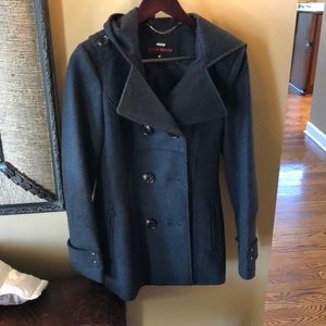 Worn once, Miss Sixty Peacoat, size small.